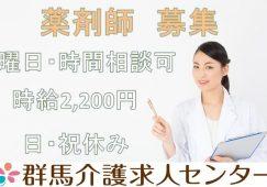 【館林市】病院の薬剤師【JOB ID:502-1-yz-p-yz-nor】 イメージ