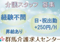 【館林市】(特別養護老人ホーム)の(介護職)【JOB ID:156-1-ca-p-ms-nor】 イメージ