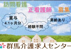 【行田市】訪問看護の看護スタッフ【JOB ID:661-1-ns-f-ns-bbb】 イメージ