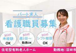 【沼田市】住宅型有料老人ホームの看護スタッフ【JOB ID:487-5-ns-p-jn-nor】 イメージ