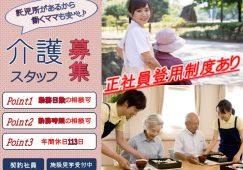 【藤岡市】サービス付き高齢者向け住宅/デイの介護スタッフ【JOB ID:250-3-ca-k-ms-nor】 イメージ