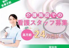 【安中市】小規模多機能ホームの看護スタッフ【JOB ID:763-1-ns-f-jn-bbb】 イメージ