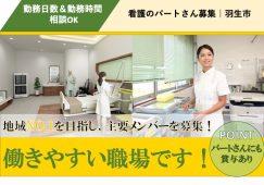 【羽生市】ケアハウスの看護スタッフ【JOB ID:919-2-ns-p-jn-nor】 イメージ